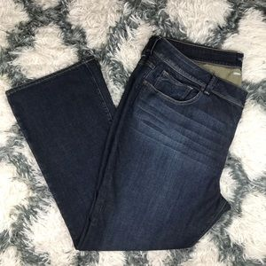 Lucky Brand Georgia Boot Cut Jeans Size 24W Blue